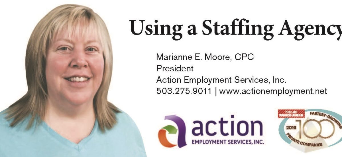 Why using a staffing agency?