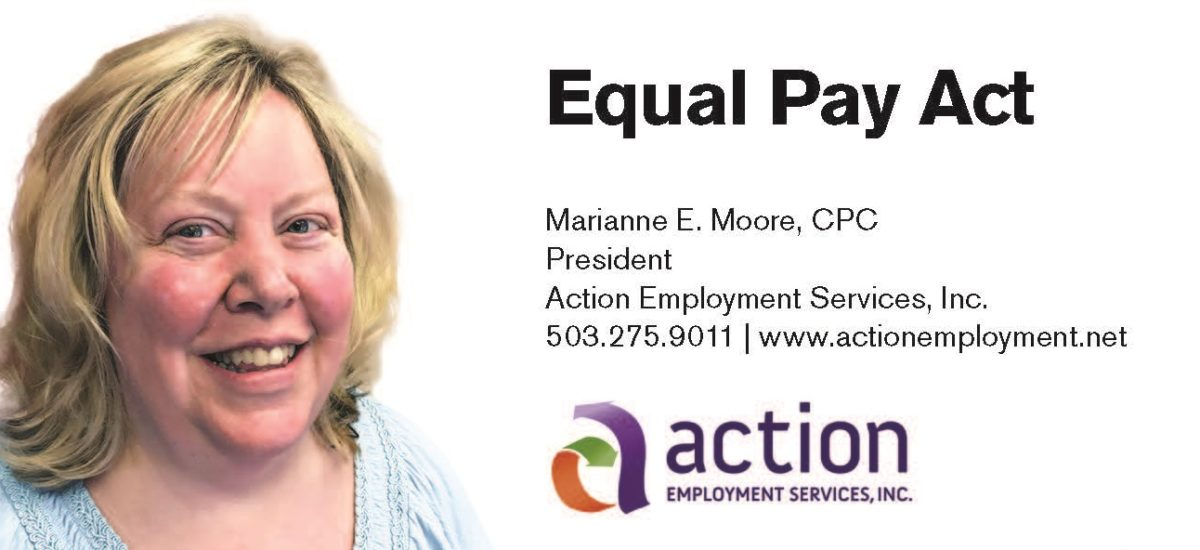 New Equal Pay Act